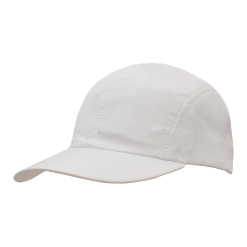 Sports Ripstop with Towelling Sweatband - Colour White