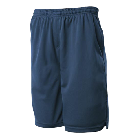 Image of Kids Sports Short - Colour Navy