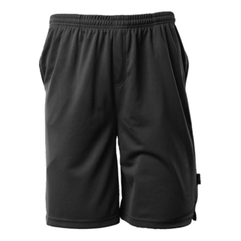 Image of Mens Sports Short - Colour Black