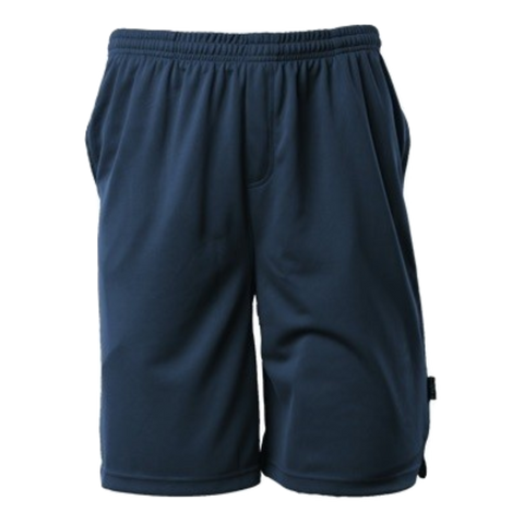 Image of Mens Sports Short - Colour Navy