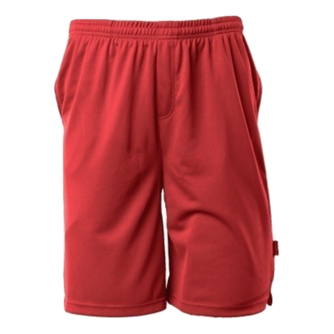 Image of Mens Sports Short - Colour Red