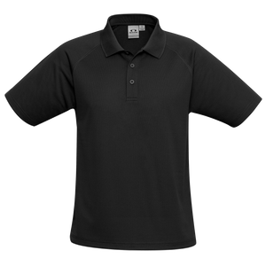 Kids Sprint Polo, Colour: Black