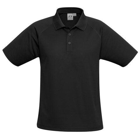 Image of Kids Sprint Polo, Colour: Black