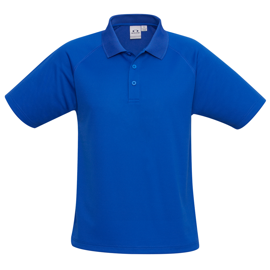 Kids Sprint Polo, Colour: Royal