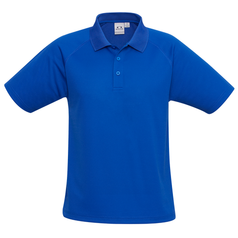 Kids Sprint Polo - Colour Royal