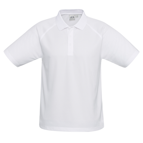 Kids Sprint Polo, Colour: White