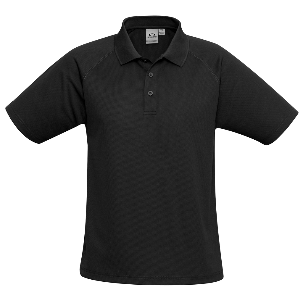 Mens Sprint Polo - Colour Black