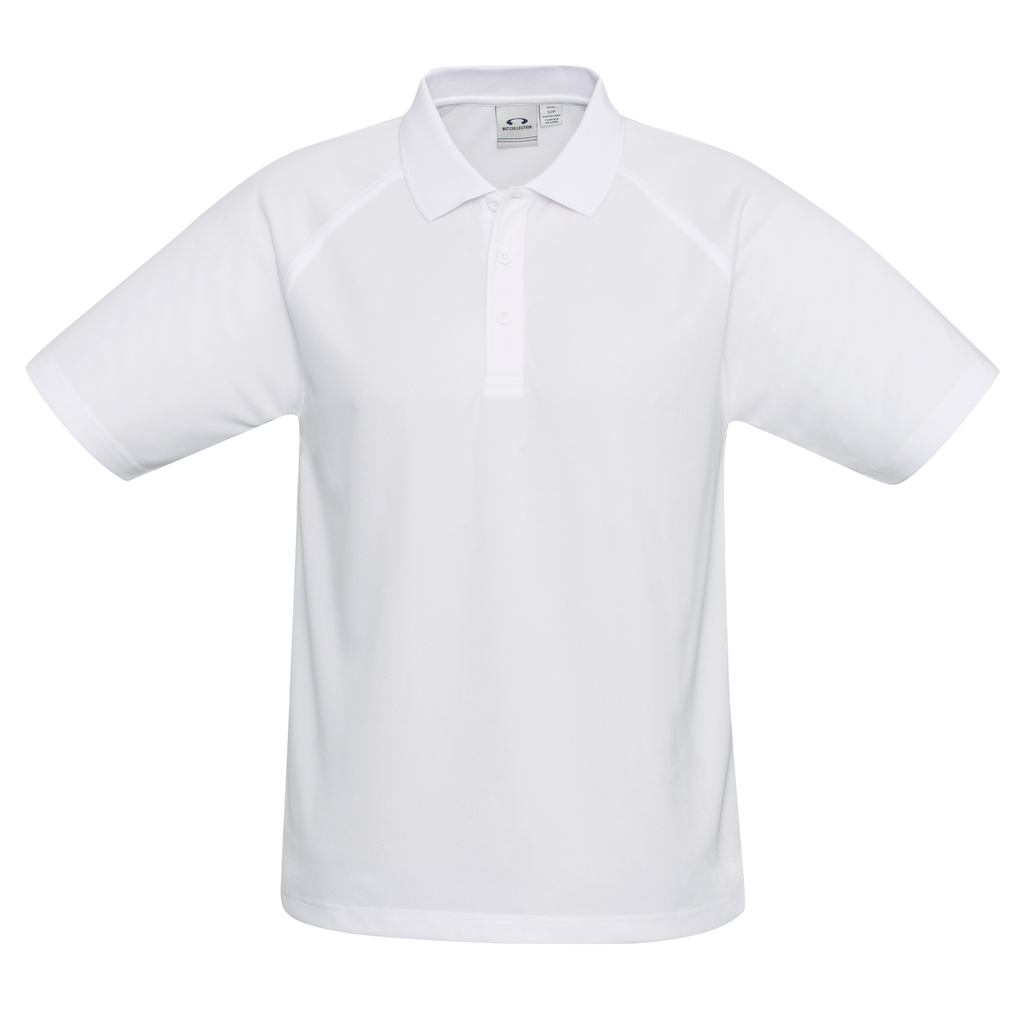 Mens Sprint Polo - Colour White