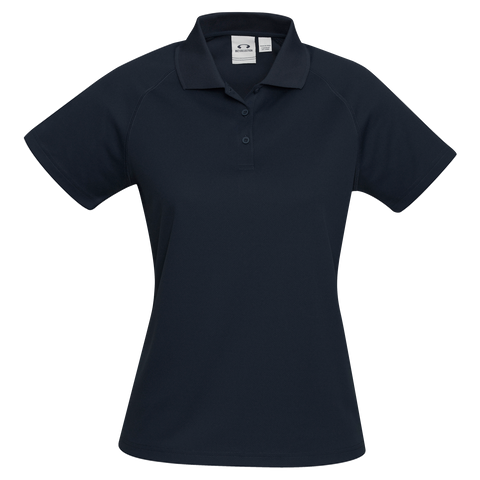 Image of Womens Sprint Polo, Colour: Navy