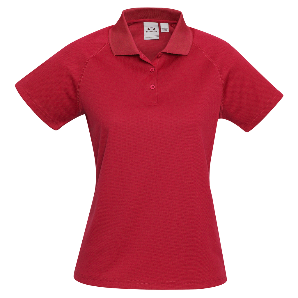 Womens Sprint Polo - Colour Red