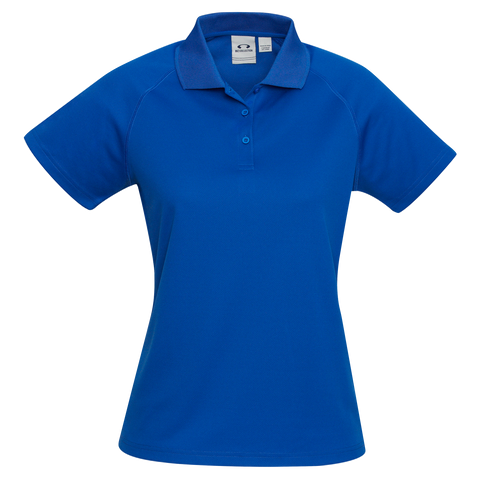 Image of Womens Sprint Polo - Colour Royal