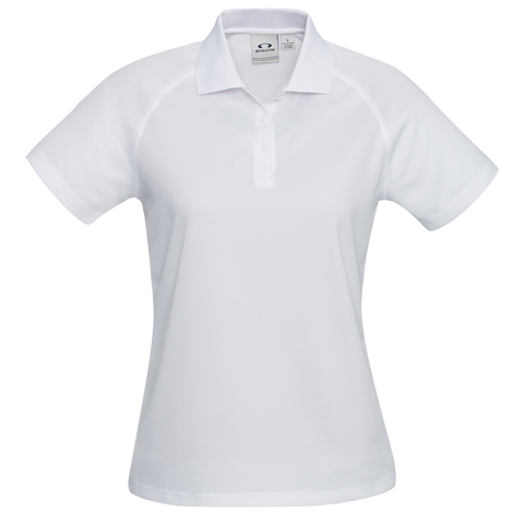 Womens Sprint Polo - Colour White