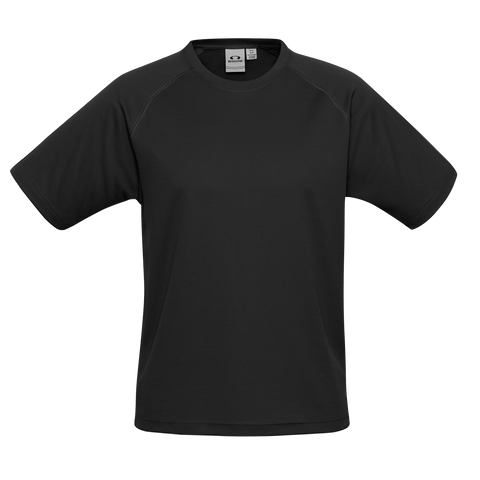 Kids Sprint Tee, Colour: Black