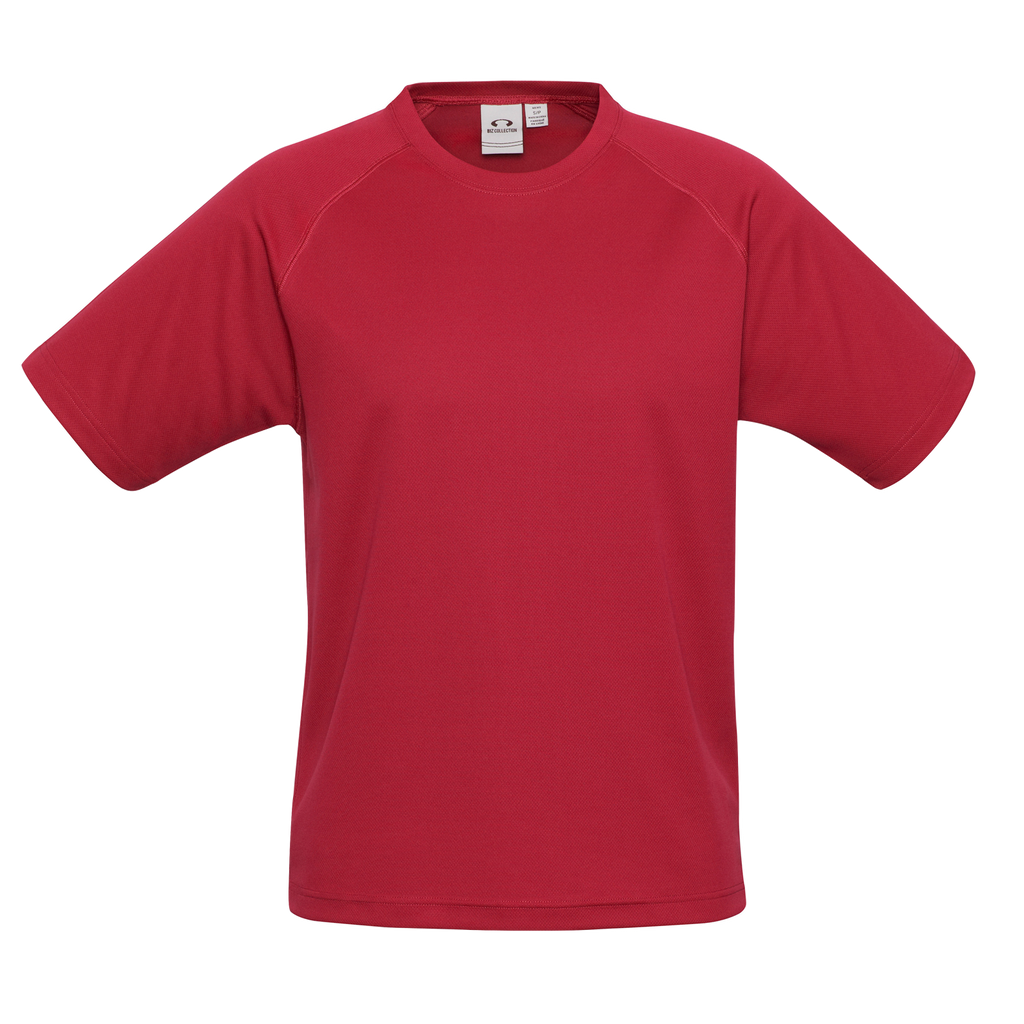 Kids Sprint Tee - Colour Red