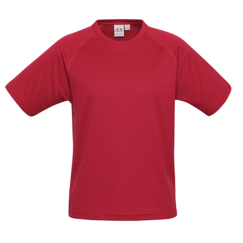 Kids Sprint Tee, Colour: Red