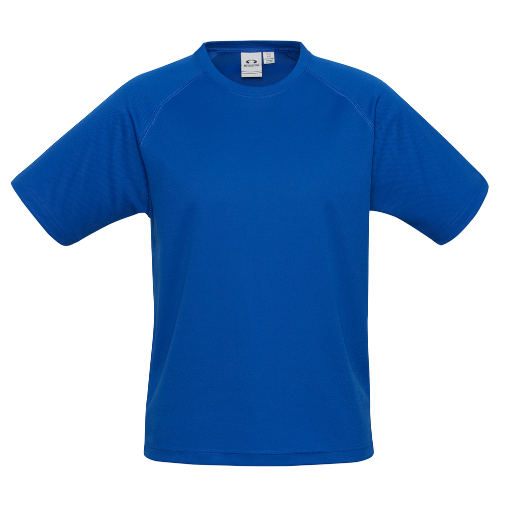 Kids Sprint Tee - Colour Royal