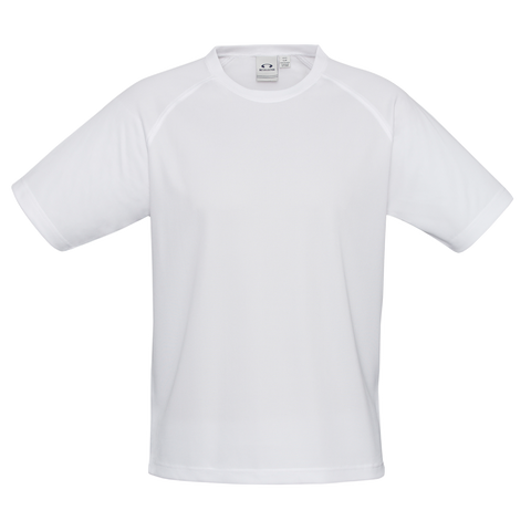 Kids Sprint Tee, Colour: White