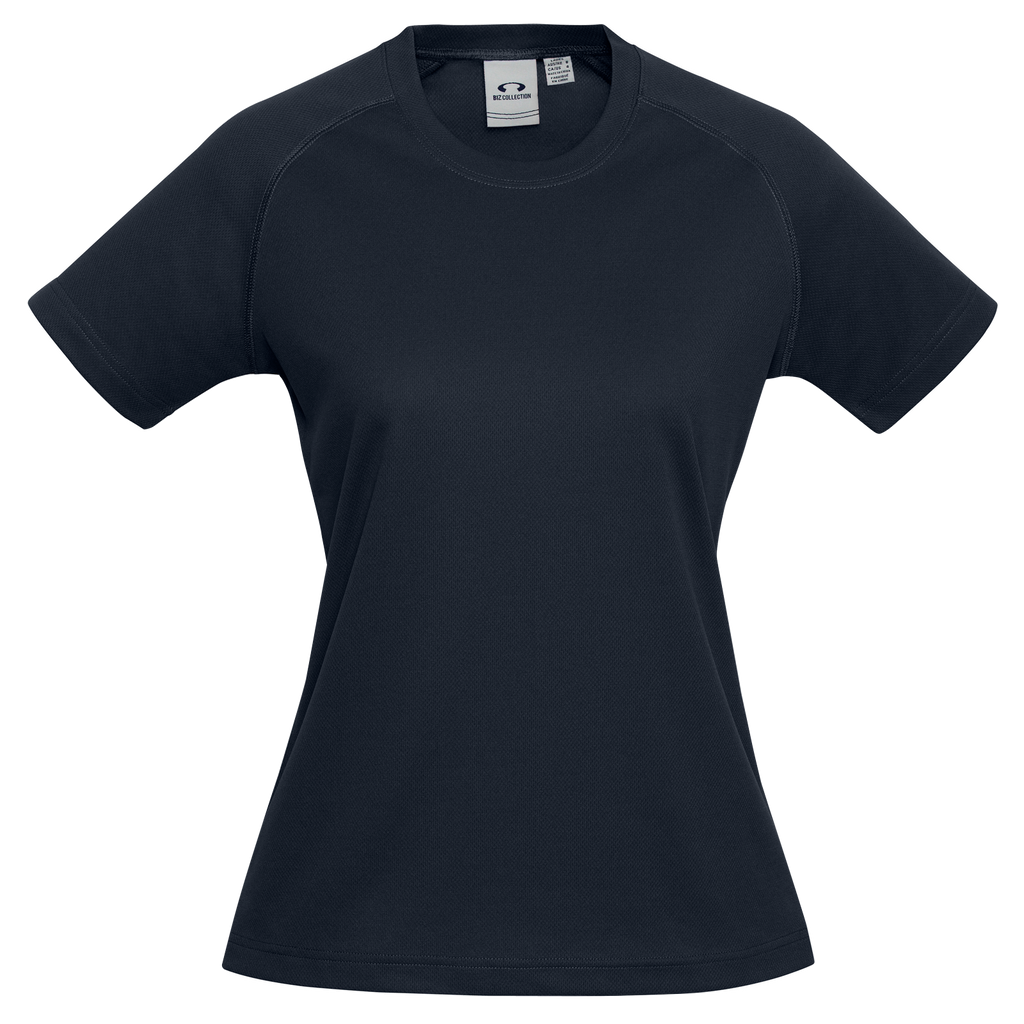 Womens Sprint Tee - Colour Navy