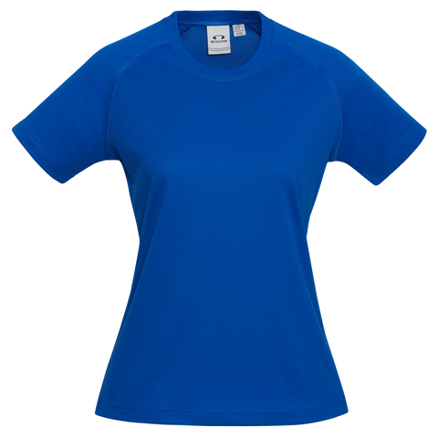 Image of Womens Sprint Tee, Colour: Royal
