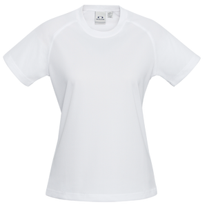 Womens Sprint Tee - Colour White