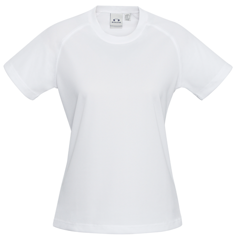 Image of Womens Sprint Tee - Colour White