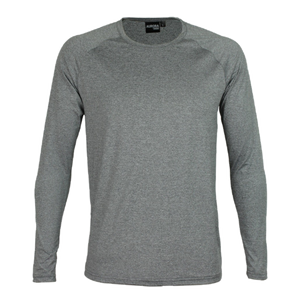 Kids Stadium LS Tee - Colour Grey Marle