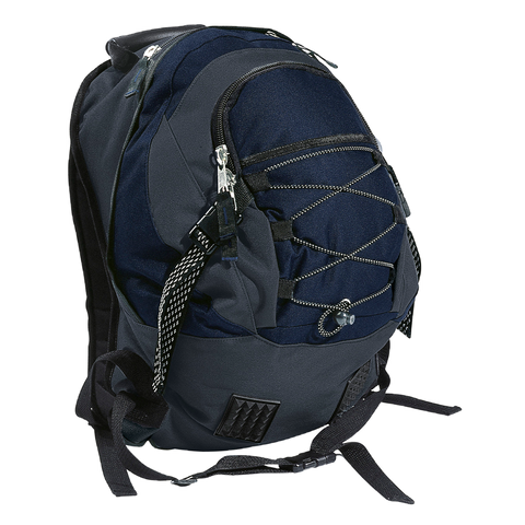 Stealth Backpack, Colours: Navy / Charcoal