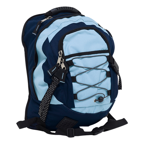 Stealth Backpack, Colours: Sky / Navy