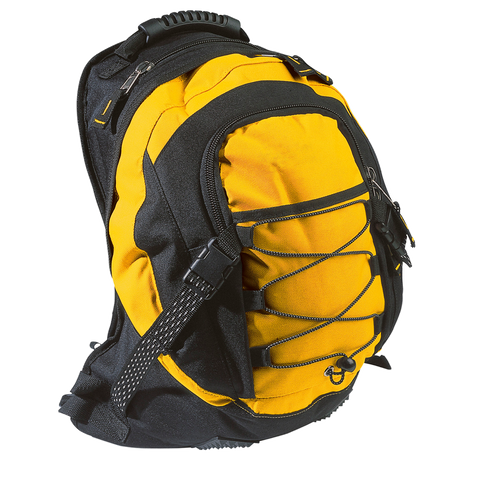 Stealth Backpack, Colours: Yellow / Black
