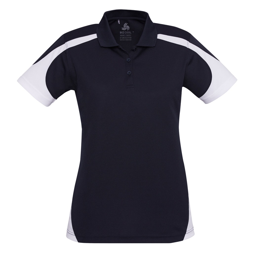 Womens Talon Polo - Colours Navy / White