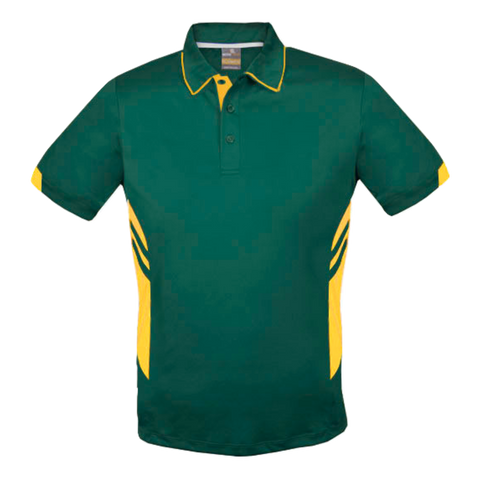 Kids Tasman Polo - Colours Bottle / Gold