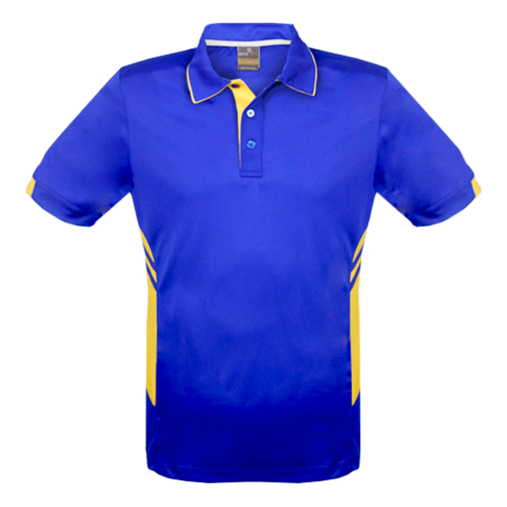 Kids Tasman Polo - Colours Royal / Gold
