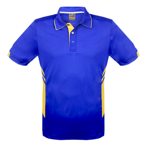 Image of Kids Tasman Polo - Colours Royal / Gold