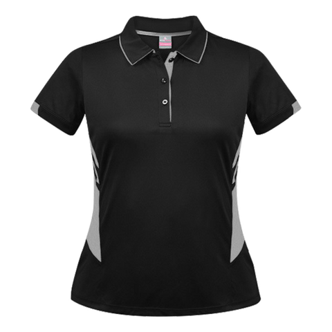Womens Tasman Polo - Colours Black / Ashe