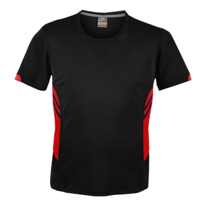 Mens Tasman Tee - Colours Black / Red