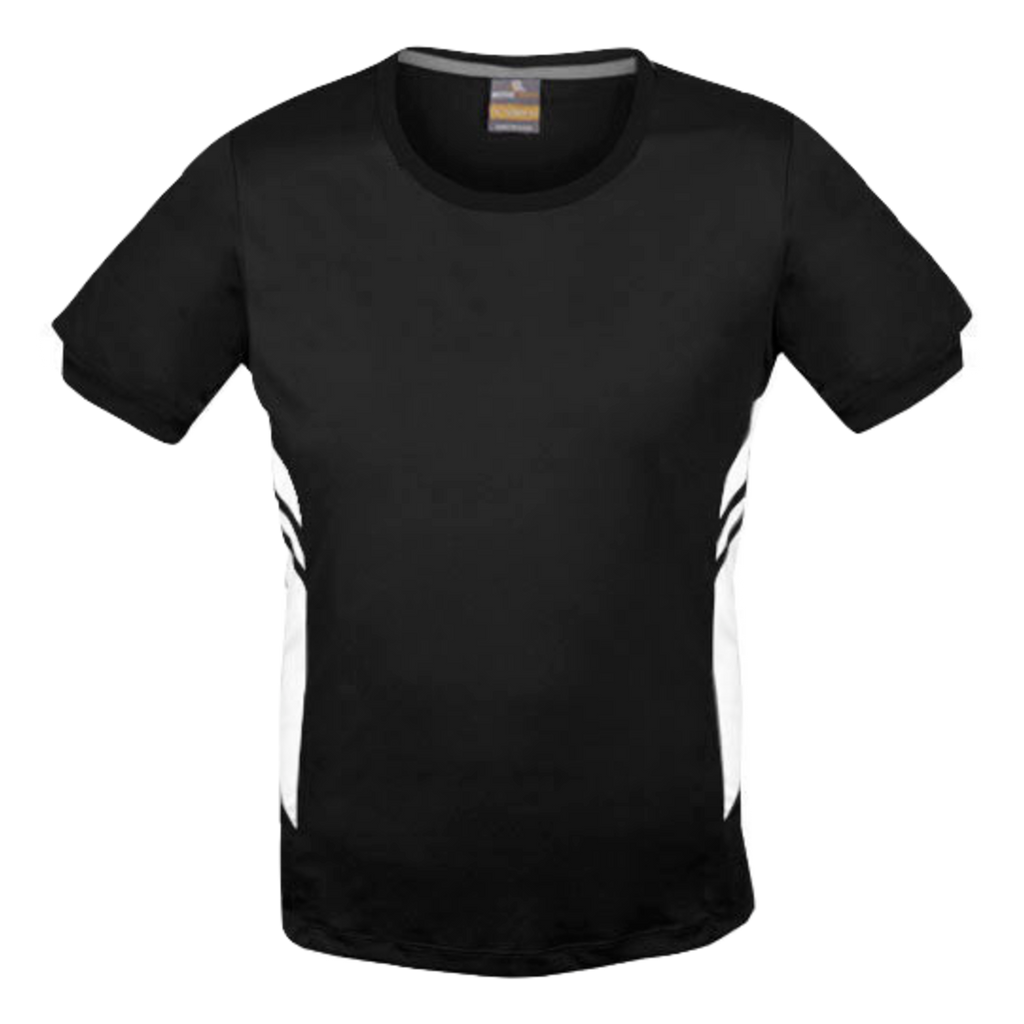 Mens Tasman Tee - Colours Black / White