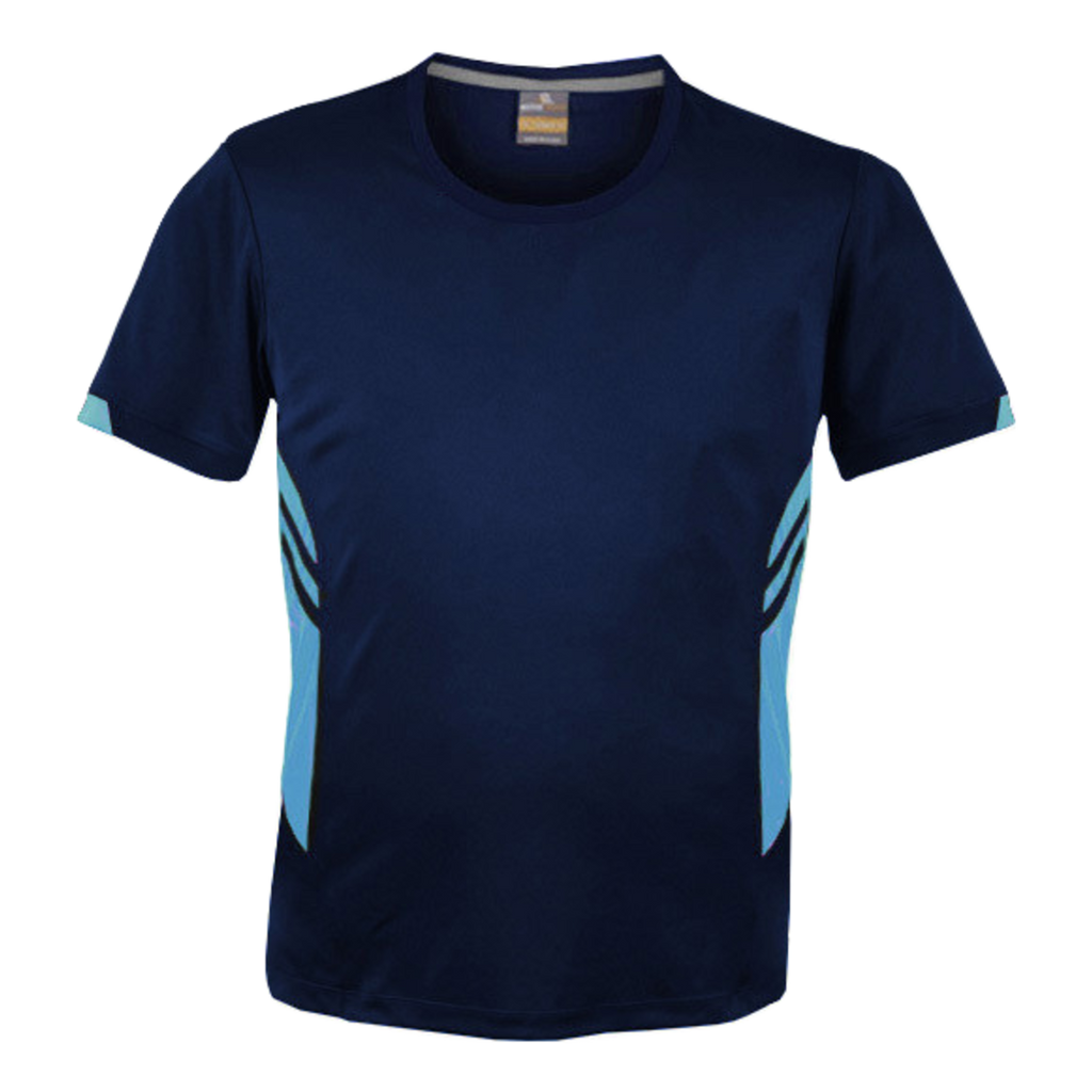 Mens Tasman Tee - Colours Navy / Sky