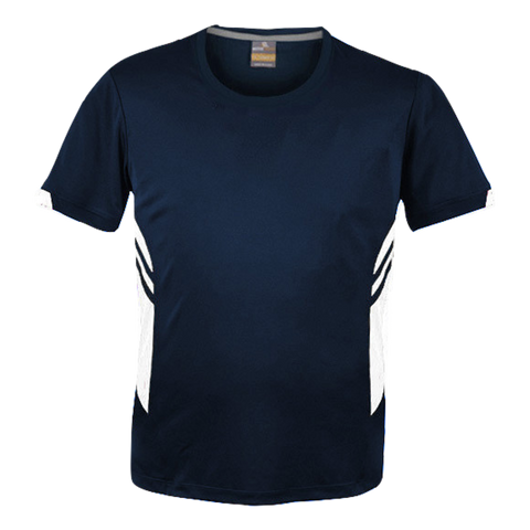 Image of Mens Tasman Tee - Colours Navy / White