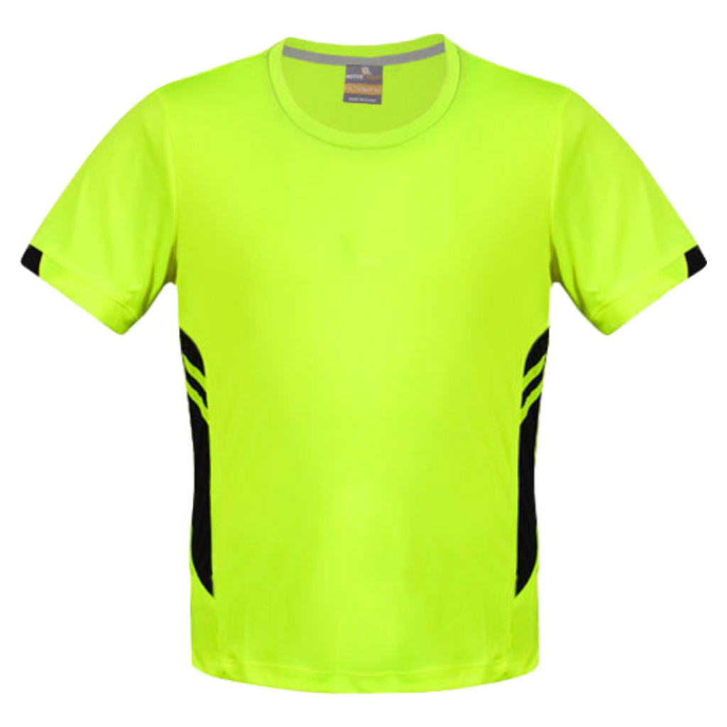 Mens Tasman Tee - Colours Neon Yellow / Black