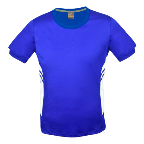Image of Mens Tasman Tee - Colours Royal / White