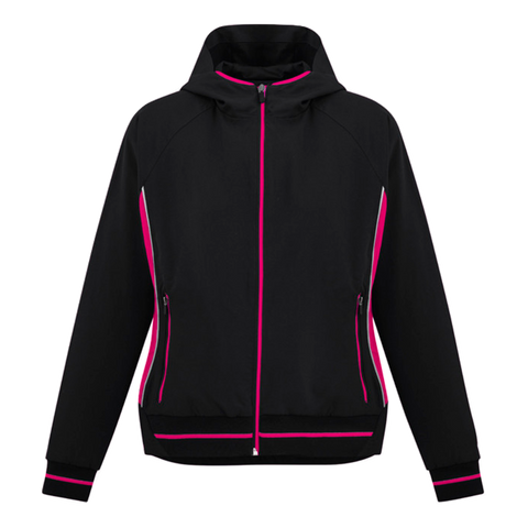 Image of Womens Titan Team Jacket - Colours Black / Magenta
