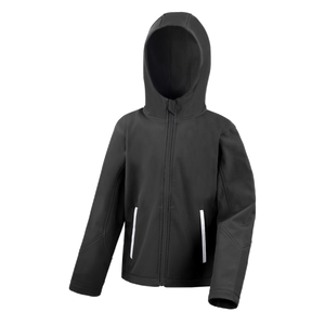 Kids TX Performance Softshell Jacket - Colour Black