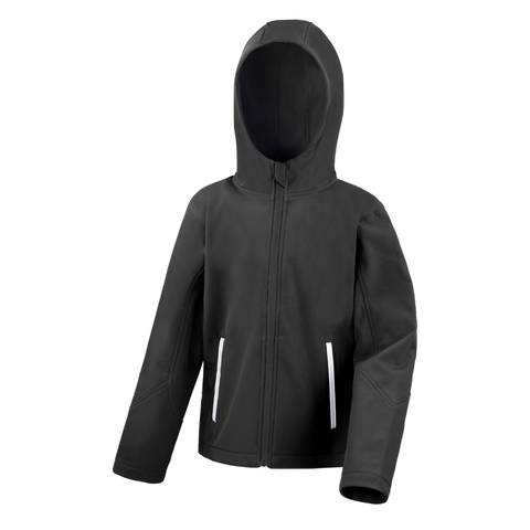 Image of Kids TX Performance Softshell Jacket - Colour Black