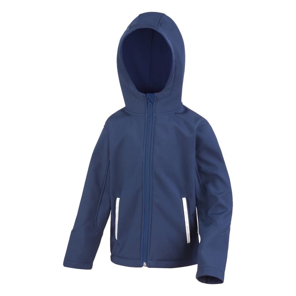 Kids TX Performance Softshell Jacket - Colour Navy