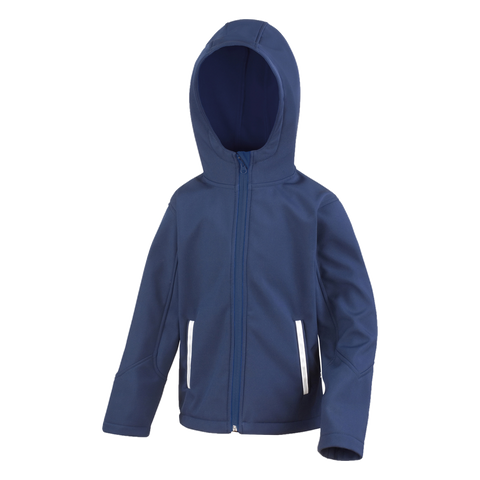 Image of Kids TX Performance Softshell Jacket - Colour Navy