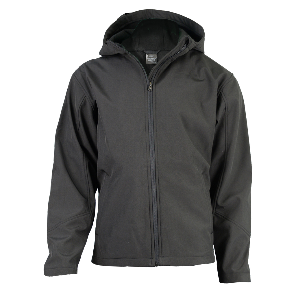 Mens TX Performance Softshell Jacket, Colour: Black