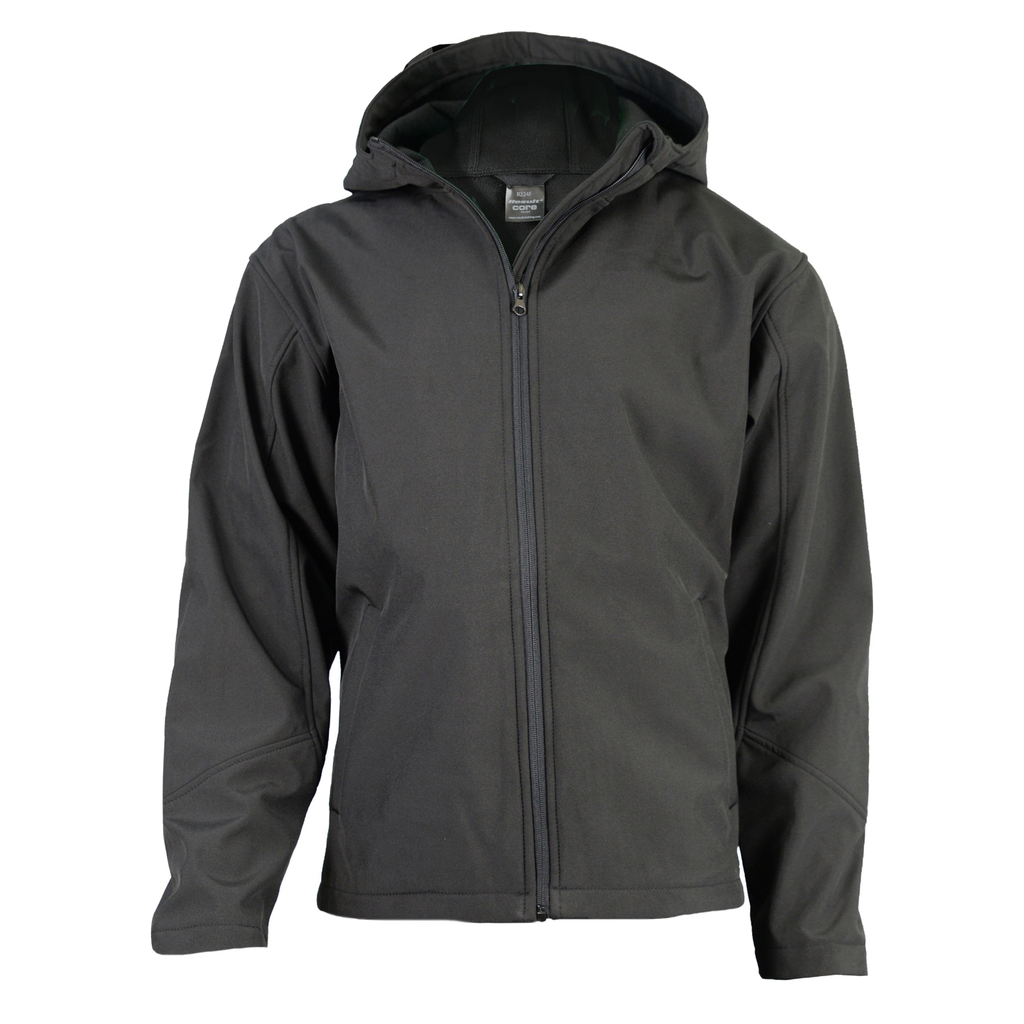 Womens TX Performance Softshell Jacket, Colour: Black