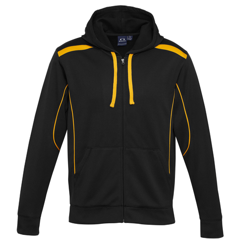 Mens United Hoodie, Colours: Black / Gold