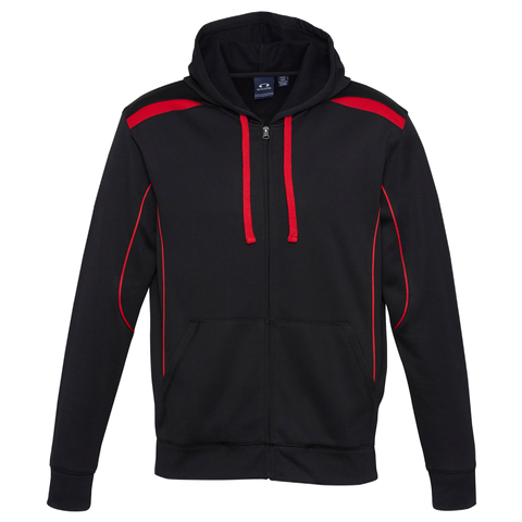 Image of Mens United Hoodie - Colours Black / Red
