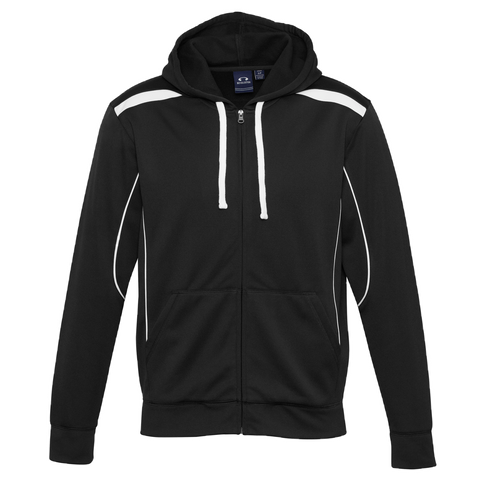 Image of Mens United Hoodie - Colours Black / White